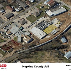 Aerial Pictures of the New Jail Site February 2nd, 2015
