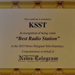 The People have Voted… KSST Best Radio Station in Hopkins County!