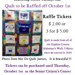 """Walk to Remember"" Quilt You Can Win"