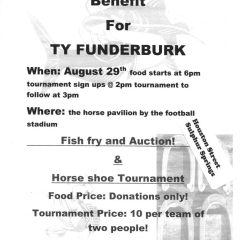 Ty Funderburk Benefit