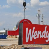 Wendy's Construction Nears Completion