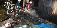 Brand in Bergisch Gladbach: Garage in Heidkamp stand