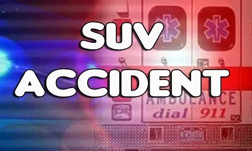 SUV Acccident