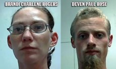 Brandi Charlene Rogers and Deven Paul Rose Mugshot