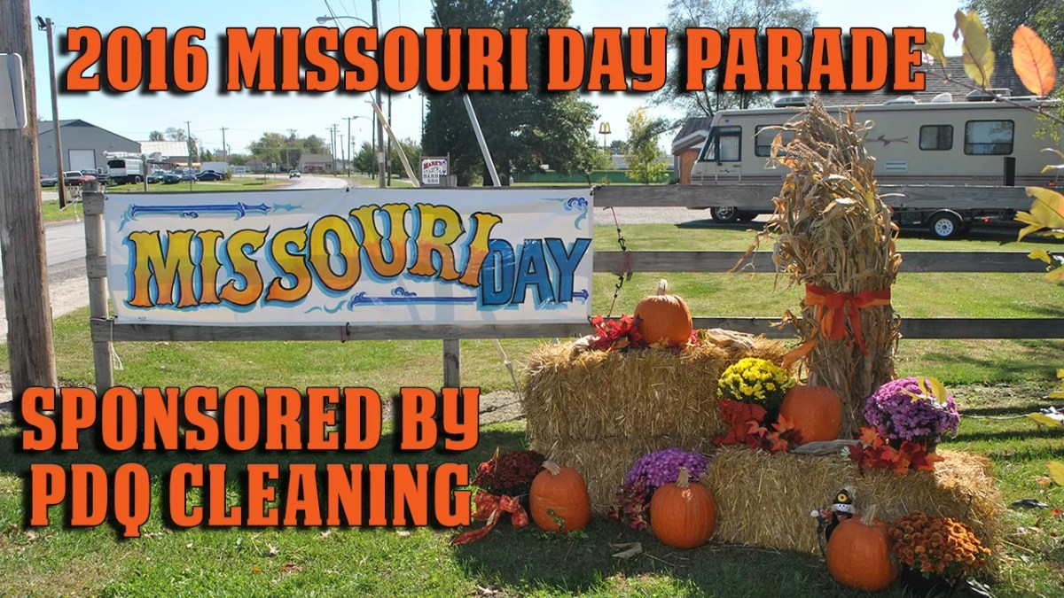 2016 Missouri Day Parade live on video starting at 8:30 Saturday