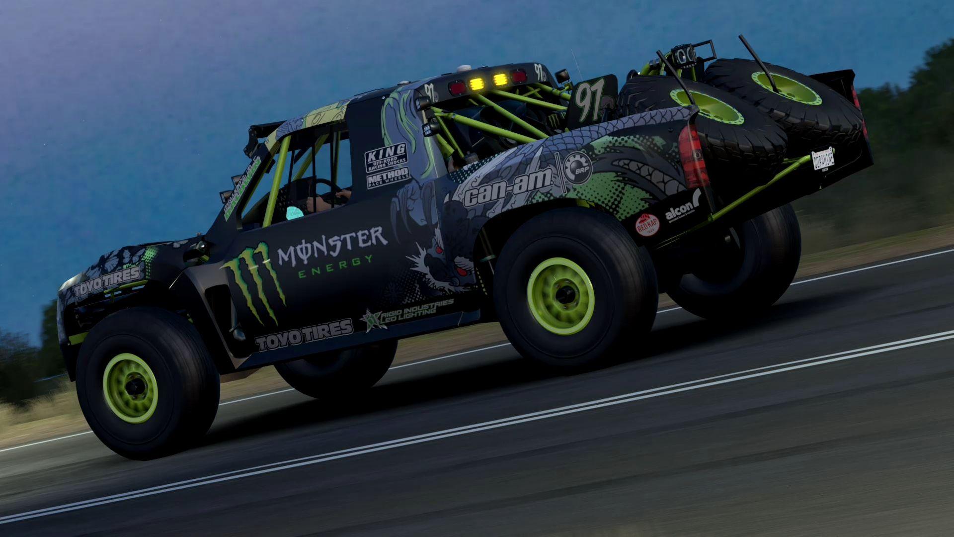 Hd Tune Up Cars Wallpaper 2015 Baldwin Motorsports 97 Monster Energy Trophy Truck