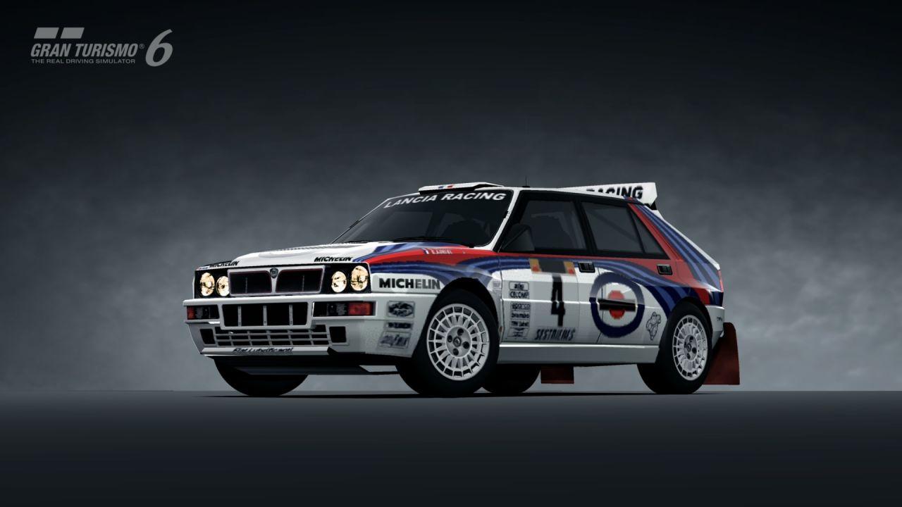 Hd Tune Up Cars Wallpaper Lancia Delta Hf Integrale Rally Car 92 Gran Turismo 6
