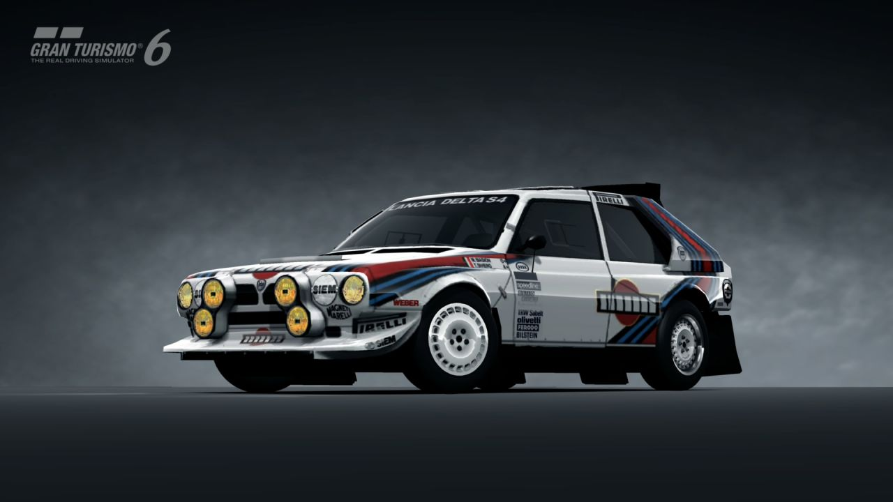 Subaru Rally Wallpaper Hd Lancia Delta S4 Rally Car 85 Gran Turismo 6