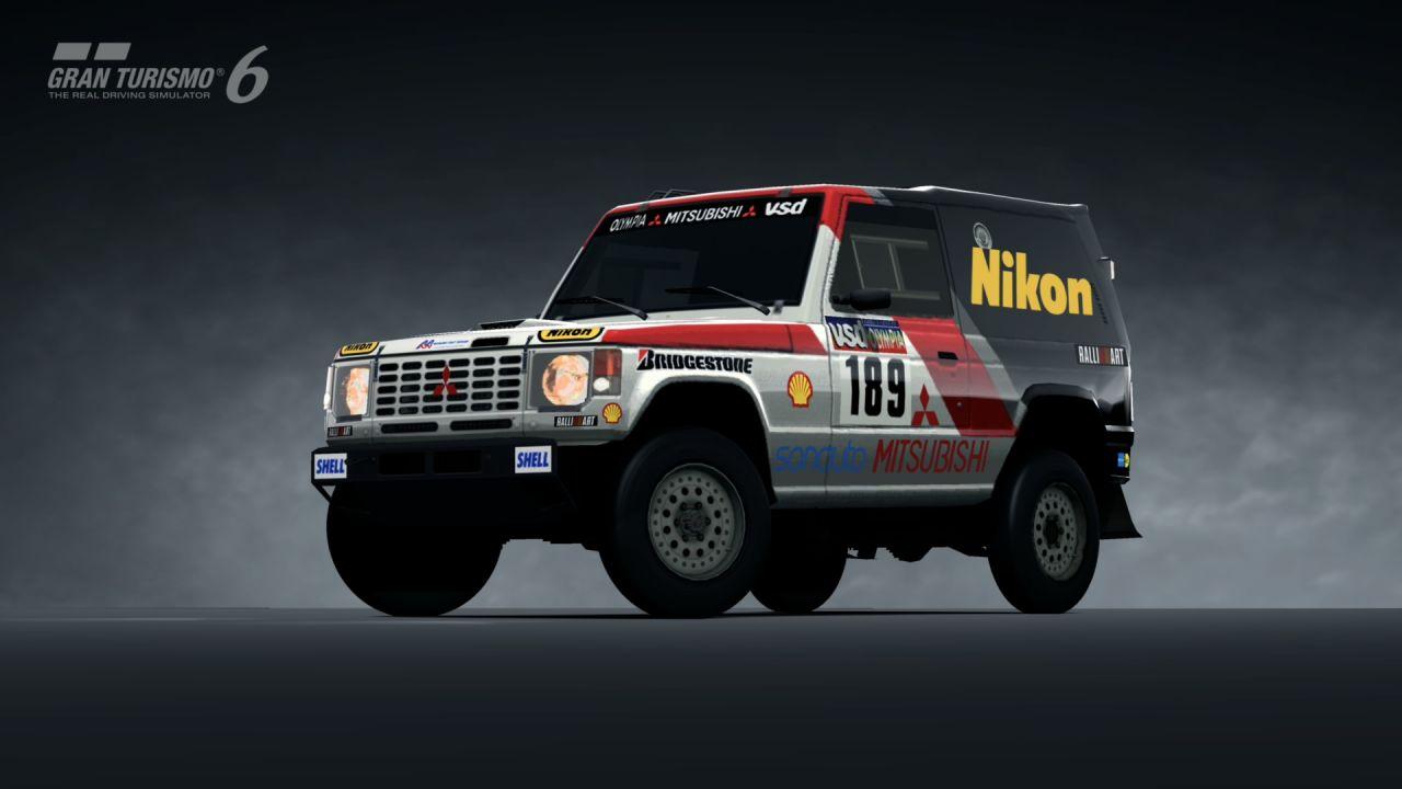Indy Car Wallpaper Hd Mitsubishi Pajero Rally Raid Car 85 Gran Turismo 6