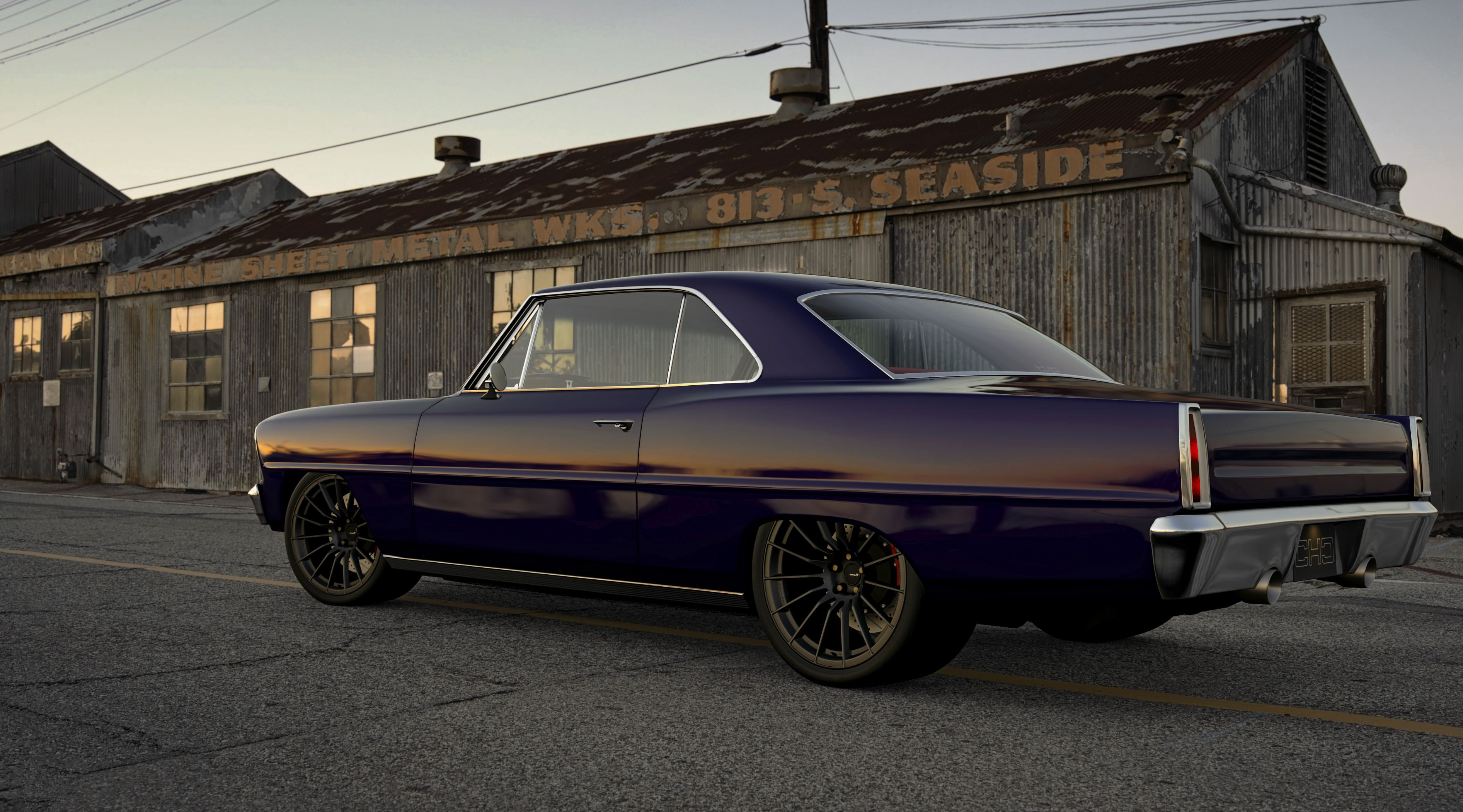 Car Pictures Wallpaper Net Speed Gran Turismo Chris Holstrom Concepts 1967 Chevy Nova