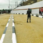 Photos: Ambode inspects ongoing projects in Lagos, gives contractors new deadline