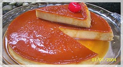 gambar puding karamel