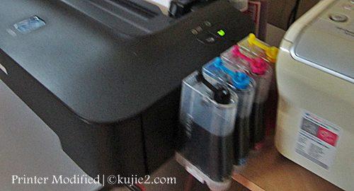 printer modified canon