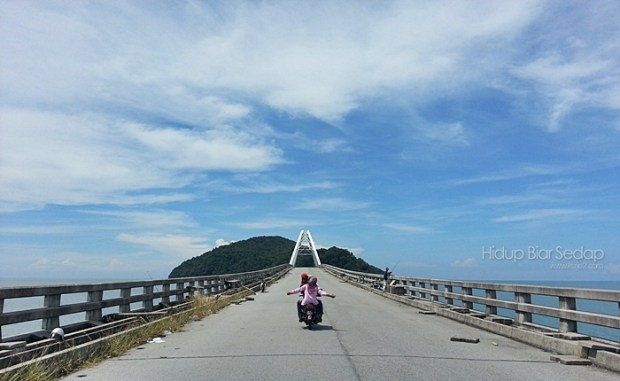 Jambatan Pulau Bunting , Sik Kedah