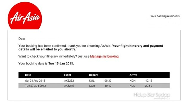 booking tiket air asia