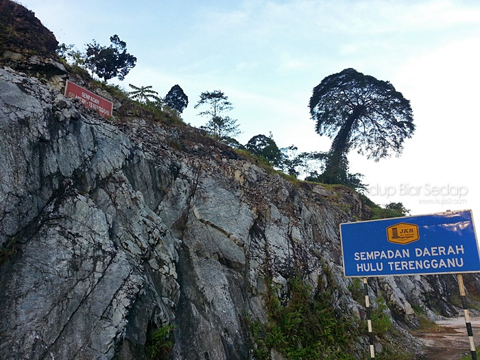 jalan Gua Musang Kuala Berang