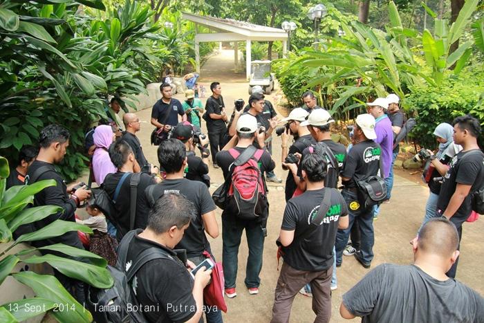 kelas fotografi taman botani putrajaya