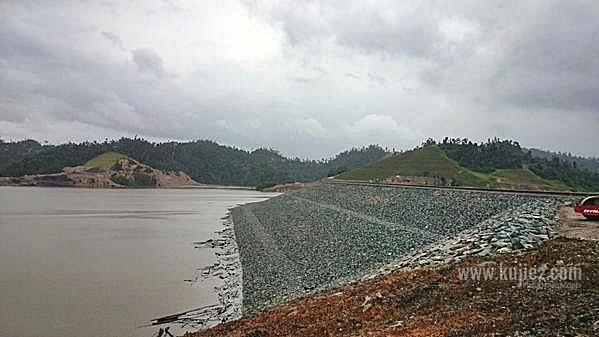 empangan hidroelektrik hulu terengganuempangan kenyir 2 hulu terengganu 2