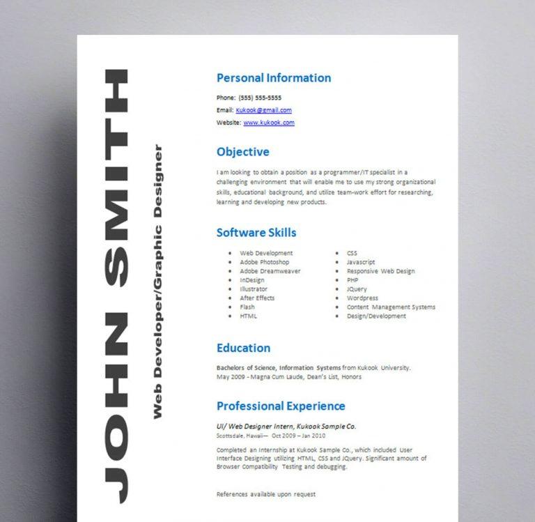 Resume #4  Kukook
