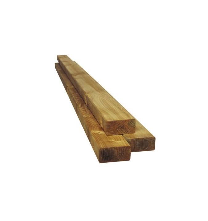 Lambourde en pin 50x80 mm pour structure terrasse - Kultur Bois - Epaisseur Lambourde Terrasse Bois