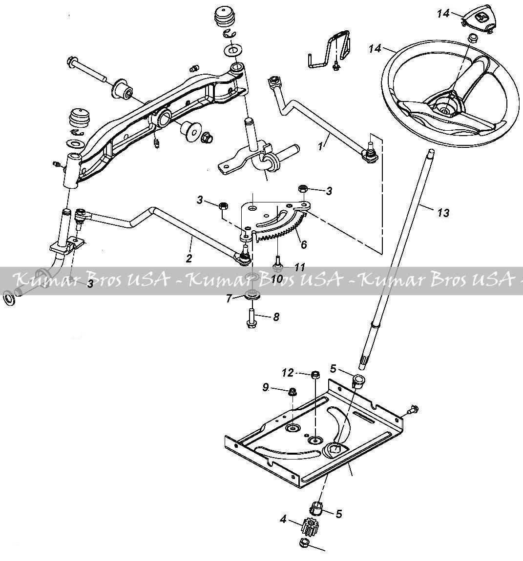 la110 belt diagram