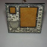 fish painted picture frame