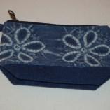 BlueVegetable dye small purse