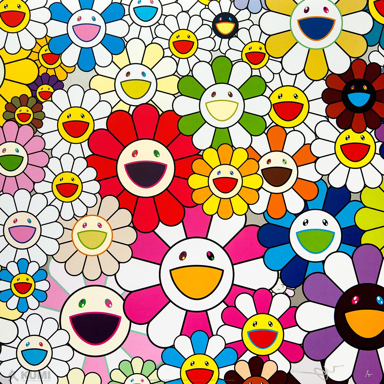 Cute Algae Wallpaper Takashi Murakami Prints Kumi Contemporary