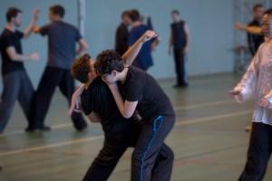 Applications martiales avec un partenaire