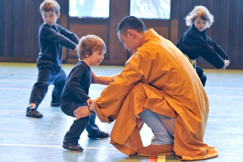 Stage avec les moines Shaolin