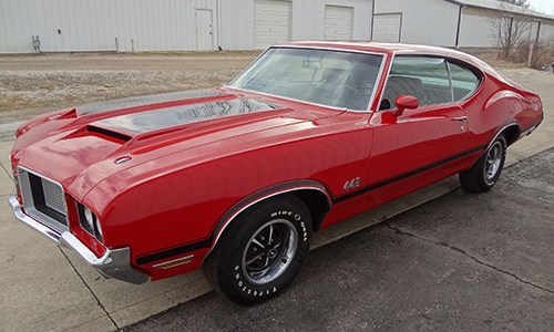 1972 Olds 442 004