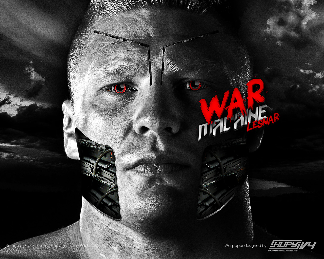 Bad Girl Wallpapers Hd New Quot War Machine Quot Brock Lesnar Wallpaper Kupy Wrestling