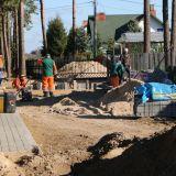 Ulica Witosa – budowa chodnika i dróg dojazdowych