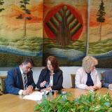 Powstanie park miejski w Łochowie