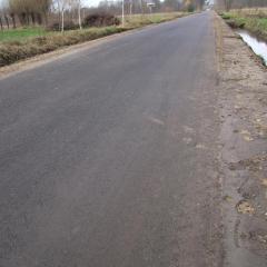 Uroczyste otwarcie drogi w Laskach