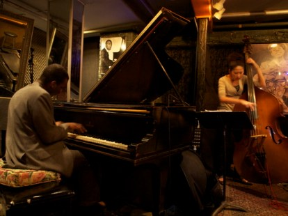 With Anthony Wonsey at Smalls, New York
