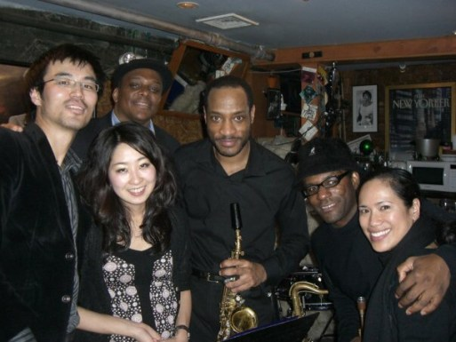 With Walter Blanding Group at Smalls New York