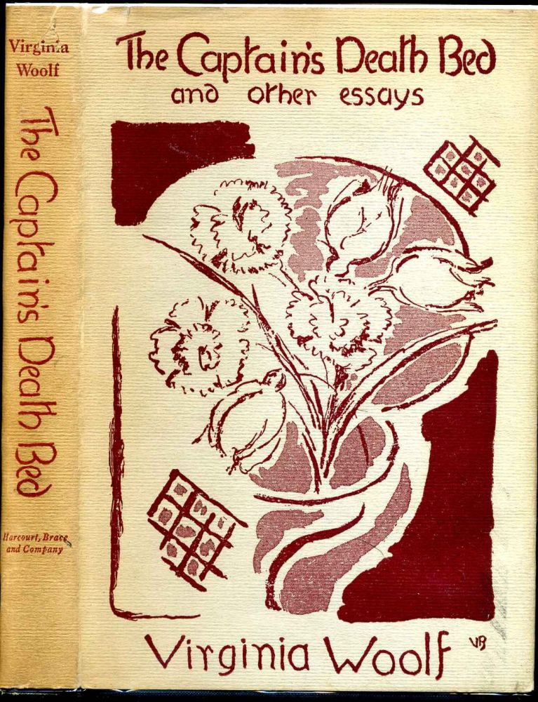THE CAPTAIN\u0027S DEATH BED and Other Essays Virginia Woolf First