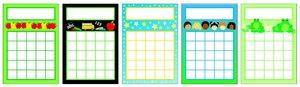 Kurtz Bros - Progress Pads - progress chart for kids