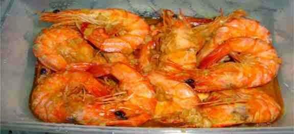 Buttered Garlic Shrimp