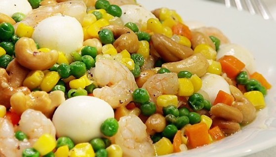 Buttered Shrimps Veggies
