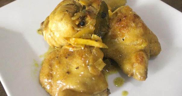 Chicken Adobo Sa Dilaw