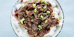 Beef Bulgogi Rice Recipe