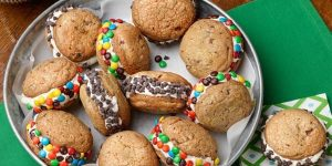 Ice Drop and Ice Cream Cookie Sandwich Recipe