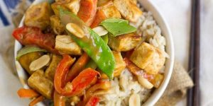 Rainbow Peanut Butter Stir-Fry Recipe
