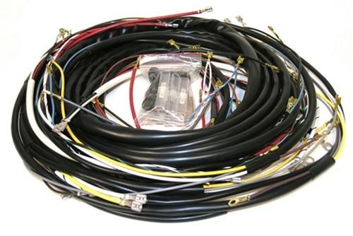 vw bus main wiring harness