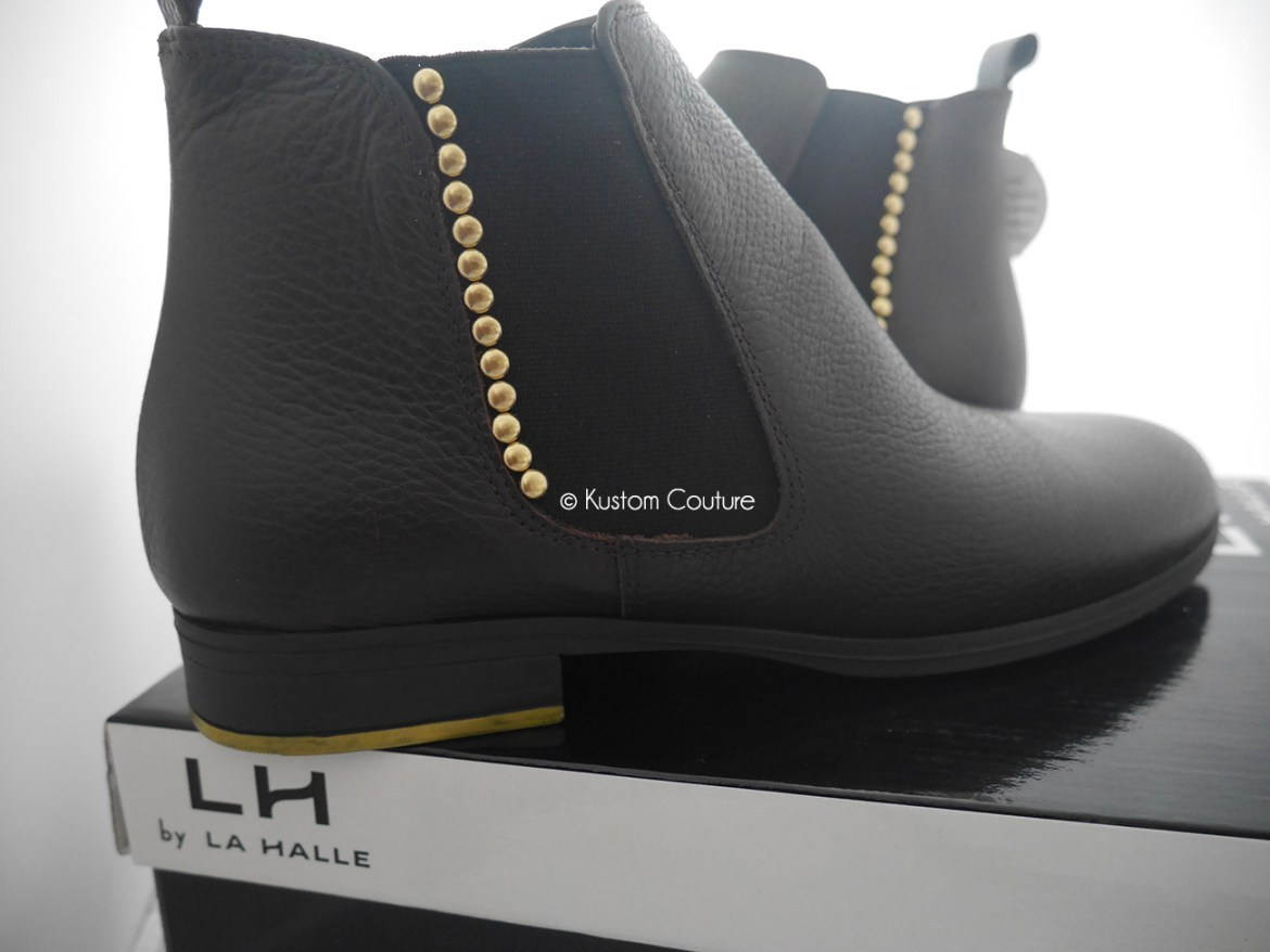 Atelier DIY La Halle aux Chaussures | Customisation de bottines Chealsea | Kustom Couture