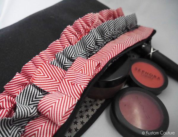 Customisation d'une trousse à maquillages | Kustom Couture