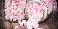 Pink-marshmallows