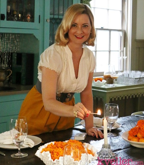 The Glamorous Housewife's Guide To Hosting Shabbat Dinner